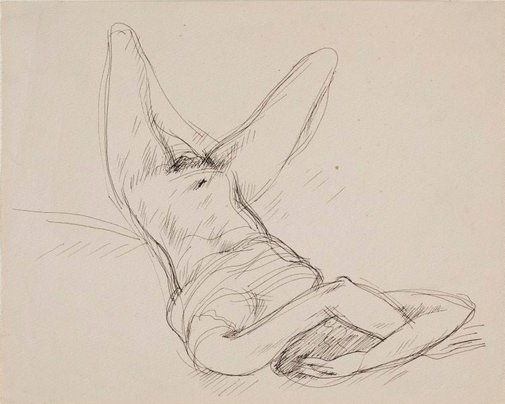 An image of Nude (the vulture) by Francis Lymburner