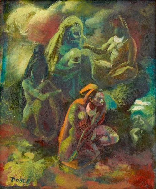An image of Study for 'Giluwe' by William Dobell
