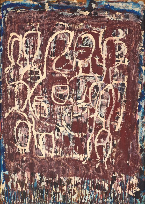 An image of Composition with figures