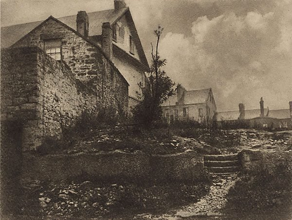 An image of Old cottages, The Rocks