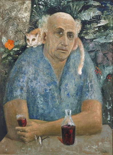 AGNSW prizes Sali Herman Self-portrait, from Archibald Prize 1971