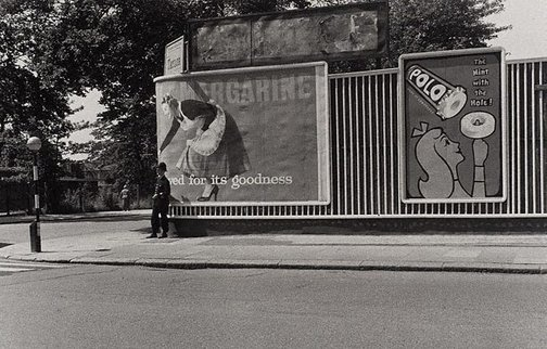 An image of Margarine advertisement, London by Lewis Morley
