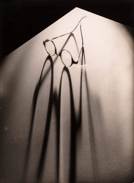 An image of Glasses by Olive Cotton