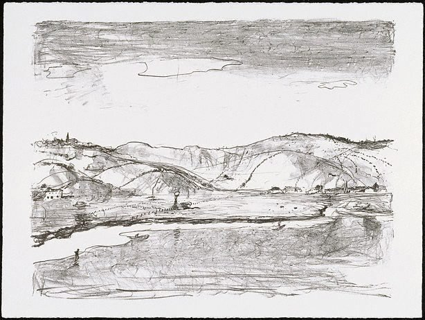 An image of Untitled (Illawarra landscape)