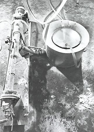 An image of Output 13 by Joseph Beuys