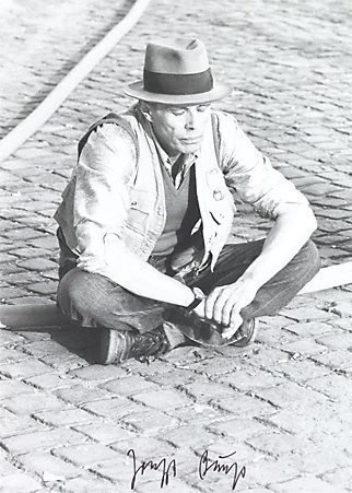 An image of Output 20 by Joseph Beuys