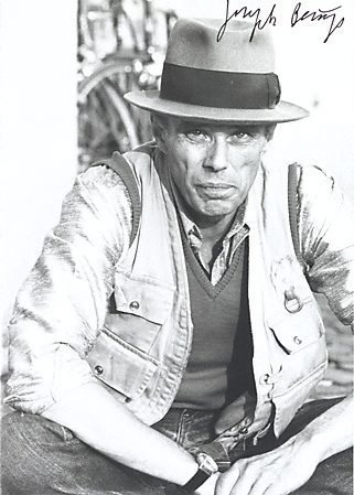 An image of Output 22 by Joseph Beuys