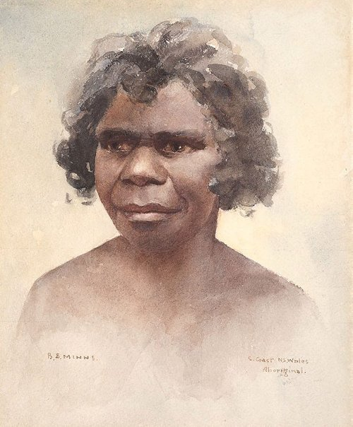 An image of South Coast New South Wales Aboriginal by BE Minns