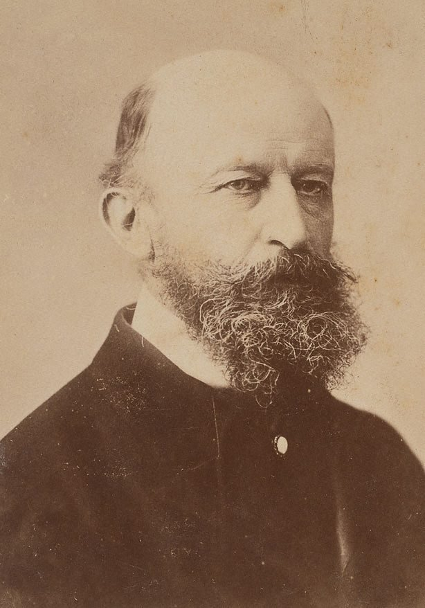An image of Untitled (portrait of a man with beard, bust length)