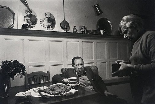 An image of Queenie and her husband, London by Lewis Morley