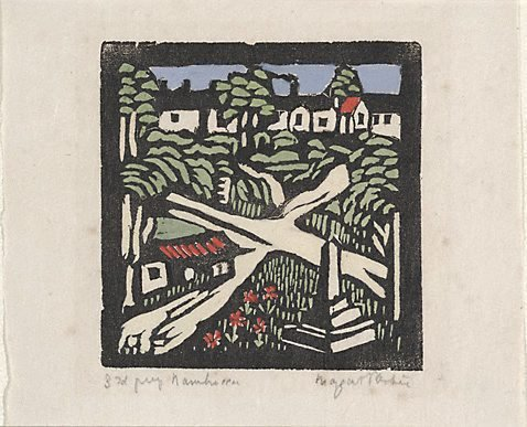 An image of Nambucca by Margaret Preston