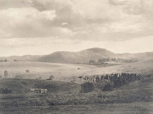 An image of Cloud shadows, Dorrigo, New South Wales by Harold Jones