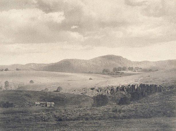 An image of Cloud shadows, Dorrigo, New South Wales