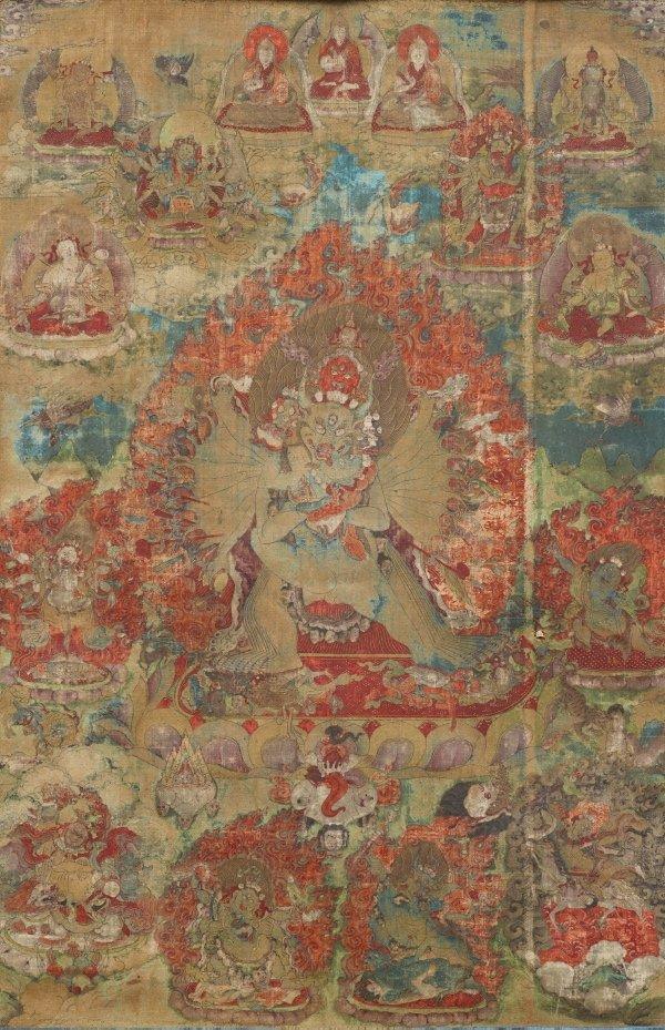 An image of Yamantaka Vajrabhairava
