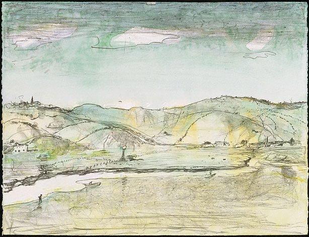 An image of Untitled (Illawarra landscape)