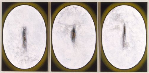 An image of Void series nos. XI, XII, XIII by Marion Borgelt