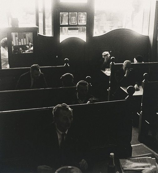 An image of Cosy Cafe, King's Road, Chelsea, London by Lewis Morley