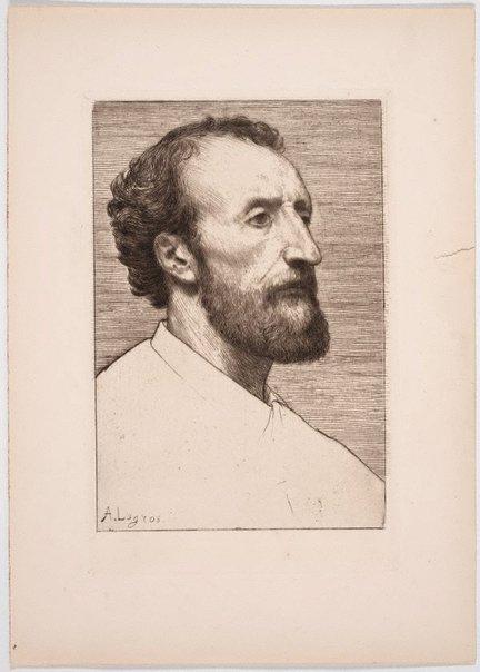 An image of Jules Dalou by Alphonse Legros