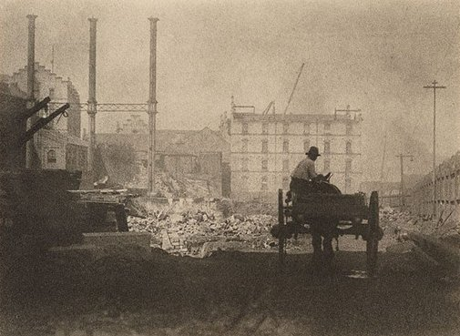 An image of Demolition by Harold Cazneaux