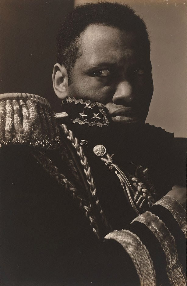 An image of Paul Robeson as Emperor Jones