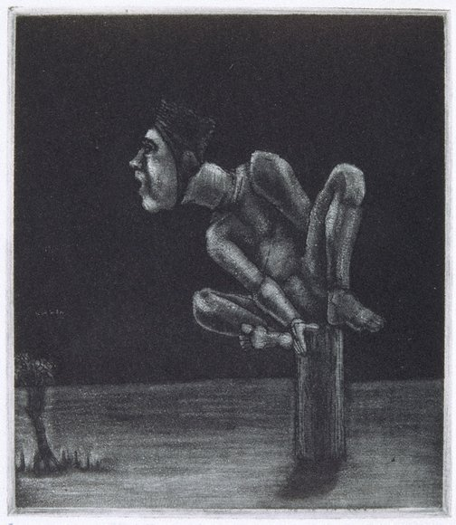 An image of Scared of monsters by Geoffrey Ricardo