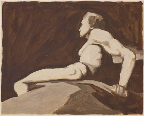 An image of Study for 'The Entombment' or 'The Tomb' by James Gleeson