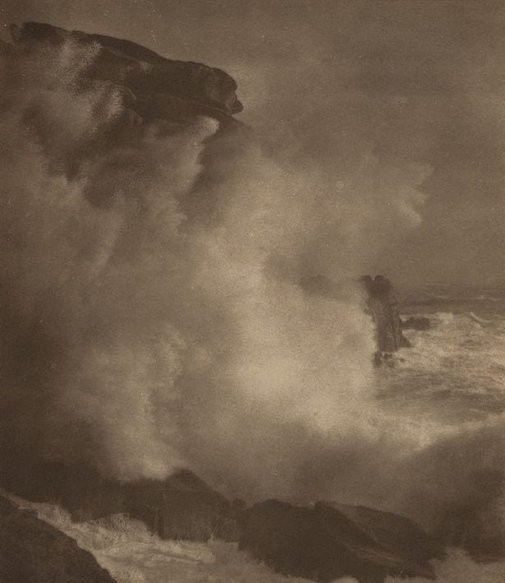 An image of Untitled (seascape) by Francis J Mortimer