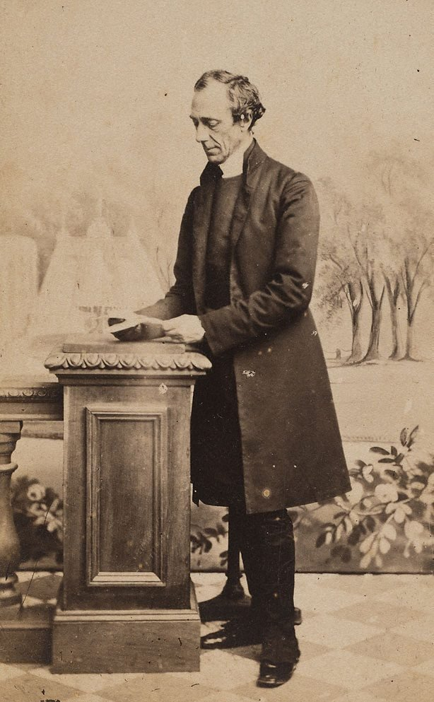 An image of Untitled (portrait of a man standing)