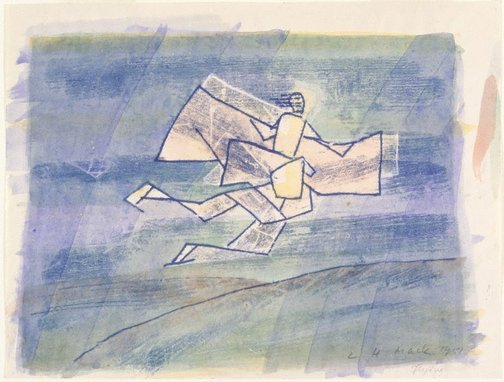 An image of Flying by Ludwig Hirschfeld-Mack
