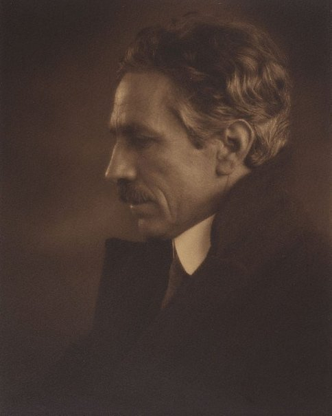 An image of Caz (Portrait of Harold Cazneaux) by Monte Luke