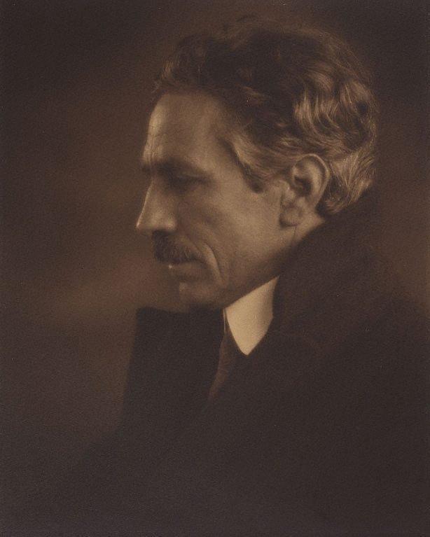 An image of Caz (Portrait of Harold Cazneaux)