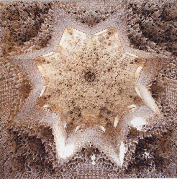 An image of Sala de los Abencerrajes Alhambra c1333-91, Granada, Spain
