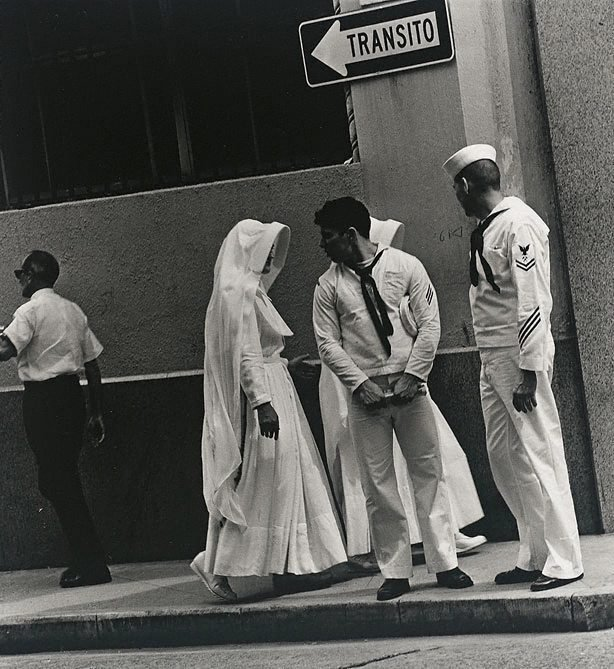 An image of American sailors, Puerto Rico