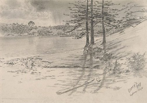 An image of Berry's Bay, Sydney by Martin Lewis