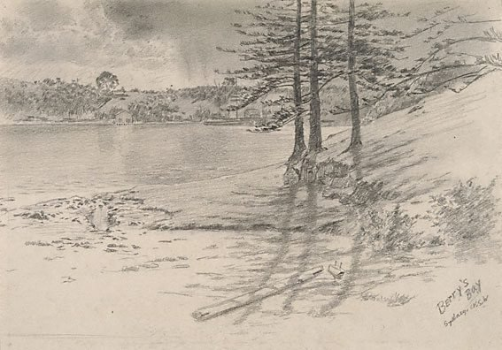 An image of Berry's Bay, Sydney