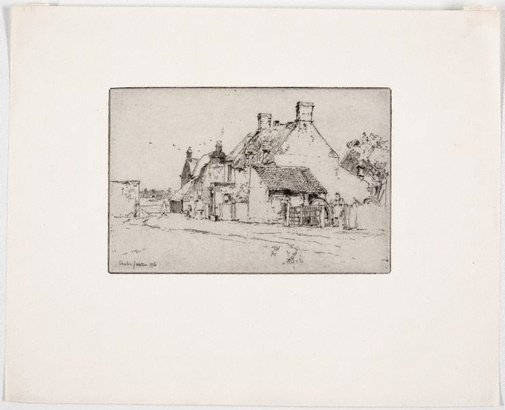 An image of Farmhouse by Charles Watson