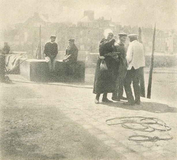 An image of On the quay, Dieppe