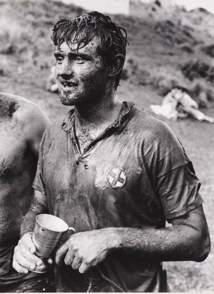 An image of Mud games, Era Surf Lifesaving Club, New South Wales by Hal Missingham