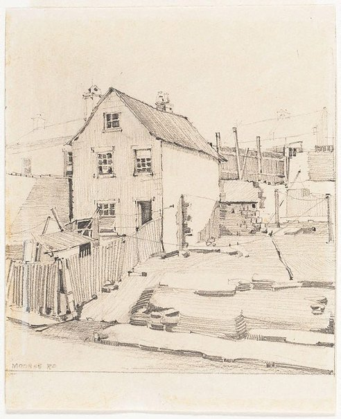 An image of Moores Rd by Mr B.J. Waterhouse