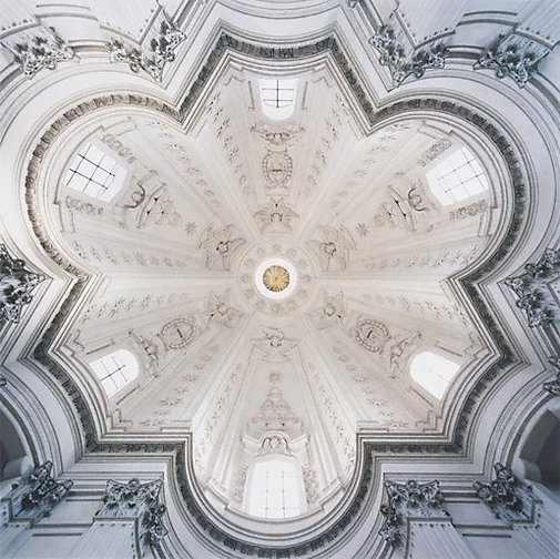 An image of Sant'ivo alla Sapienza 1645-50 Rome, Italy by David Stephenson
