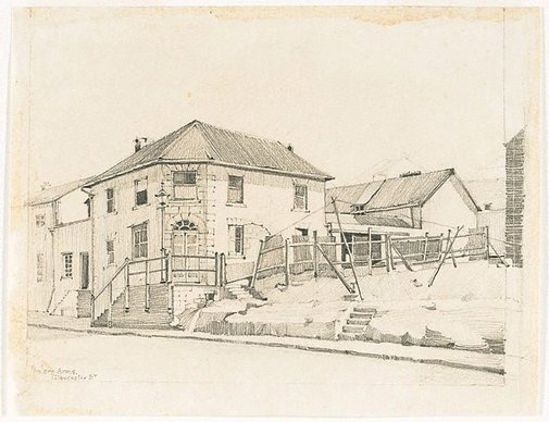 An image of Gloucester St (Balers Arms) by Mr B.J. Waterhouse