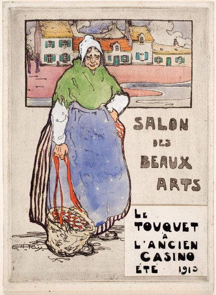 An image of Poster: Salon des Beaux Arts by Hilda Rix Nicholas