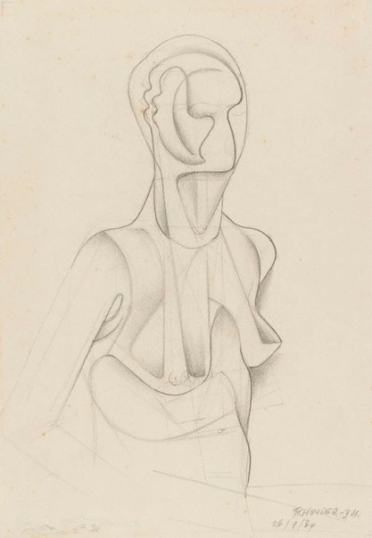 An image of Nude variation by Frank Hinder