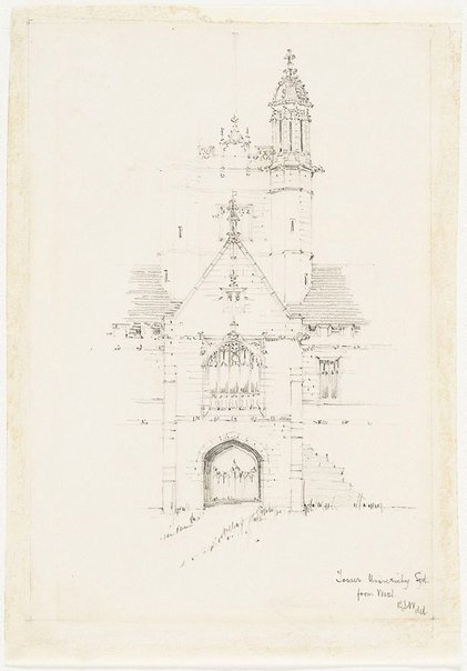 An image of Tower, University, Sydney, from west by Mr B.J. Waterhouse