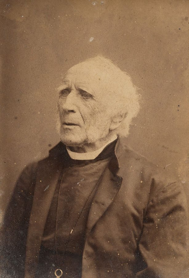 An image of Untitled (portrait of a man, bust length looking left)