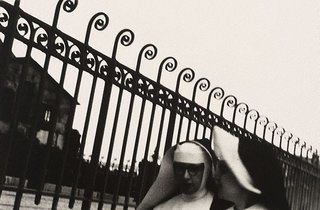 AGNSW collection Lewis Morley Nuns, Paris 1963, printed later