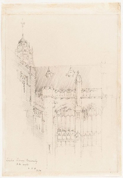 An image of Fisher Library, University, N.W. angle by Mr B.J. Waterhouse