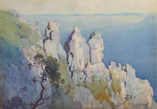 An image of The three sisters by Penleigh Boyd