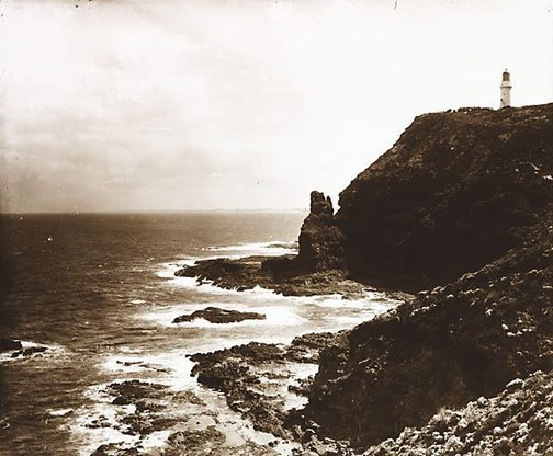 An image of Cape Schanke and lighthouse, Flinders by Nicholas Caire