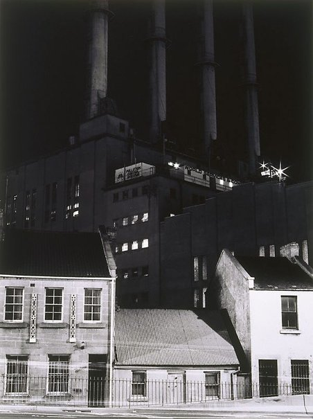 An image of Pyrmont power station by Gerrit Fokkema